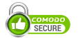 secure site by Comodo SSL