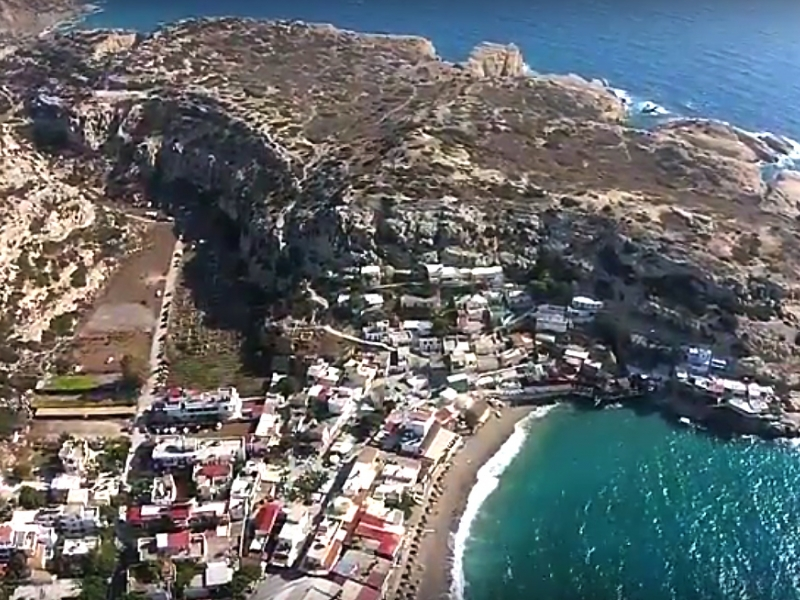 Matala View From Above